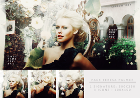 Pack Teresa Palmer by shad-designs