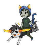 Tavros and Nepeta by Troll-OscureDooble