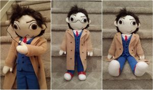 David Tennant - 10th Doctor Plush by m-sharlotte
