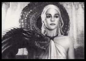 Game of thrones Daenerys Targaryen by FredrikEriksson1