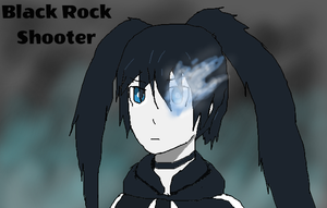 Black Rock Shooter by TheSpiderAdventurer