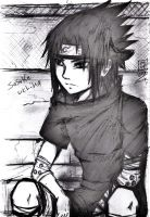 ..uchiha sasuke.. by Stray-Ink92