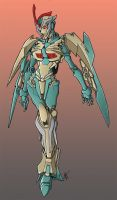 Transmutate Bot Colors for april issue by BDixonarts