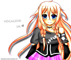 Vocaloid IA by GreenTea-Ice