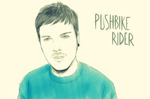 Pushbike Rider by overkill79