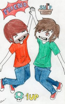 SMOSH Friendship by Red-Sushi