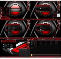Current Desktop Cysteine-Red by bigcyco1