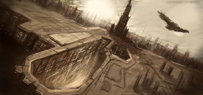 City Landscape Practise 1 by Skaiway