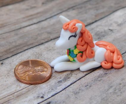 Spring Pony Sculpture by TinyBlissfulness
