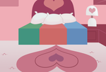 PPG Room bed front by toongrowner