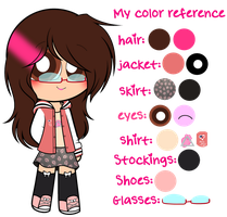 ~My color reference by Nini-the-kitty