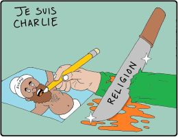 Je Suis Charlie by backerman