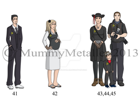 Commission Set 41 to 45 by MummyMetaller