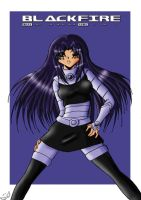-BlackFire- by Dawnrie