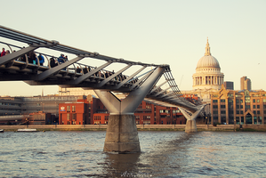 The Millenium Bridge by Ana-D