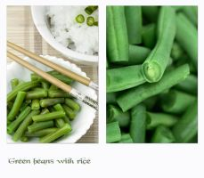 Green beans with rice by shatinn