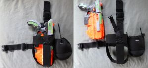 NERF Vigilon Drop Holster Prototype by MarcWF
