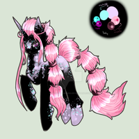 New Style Pony: Pastel Auction [CLOSED] by SparksOfDiscord