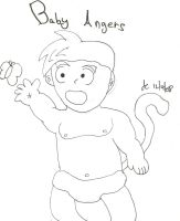 Baby Angers lines 8D by Supersaiyanbatman