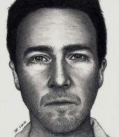 Edward Norton by Rick-Kills-Pencils