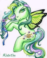 My Deviant Pony: Absinthe by PuppyGirl