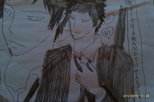 KHR This Adult yamamoto takeshi of best most Pic by Bluedragoncartoon