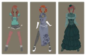 Dresses by Moemai