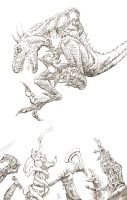 Riptor (pencil) by BrianSoriano