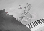 sing us a song, you're the piano man by Eggmonz