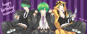 Happy Birthday Hazama! 2014 by on-a-leash