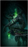 Illidan Stormrage by Erickucho