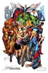 Stan Lee Marvel Tribute by J-Scott-Campbell