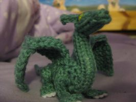 Baby Knitted Dragon by opiel16