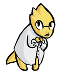 Alphys by TheNoodleGod2012