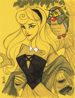 Warm Up 1, 12-30-2013 Princess Aurora by Hodges-Art