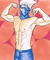 Shirtless Kakashi by LimboTheLost