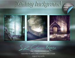 Fantasy background V01 by DIGI-3D