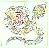 Typography Snake by Atomdesigns