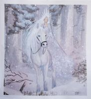 Snow Queen by bomgirl