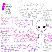 Stonecales refness [CLOSED SPECIES] by Anilee-sama