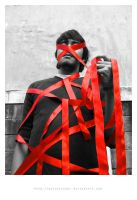 red ribbon campaign by polisitidur