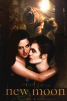 New Moon Edward and Bella by StrawberryCake01
