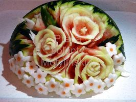 Vegetable Carving by jolabrodnica