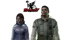 Jill And Chris - Render 3 by snakeff7