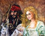 Pirates of the Caribbean by amoxes