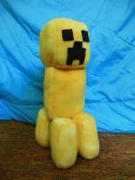 Yellow Creeper Plush by ninjakitty94