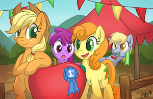Country Fair Competition (AJ Appreciation Day) by OEmilyThePenguinO