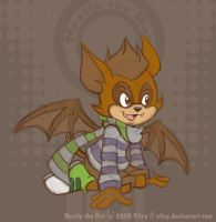 Nestle the Bat by vilsy