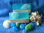 Pearly Shells soap by bhudicae