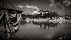 Danube Time (Black and White Version) by artofphotograhy